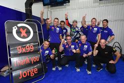 Jorge Lorenzo, Yamaha Factory Racing celebra