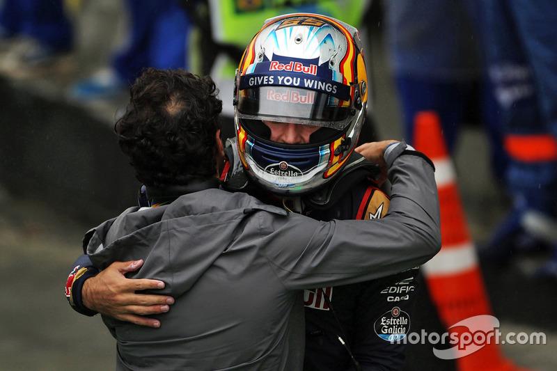 Carlos Sainz, Toro Rosso, 10º