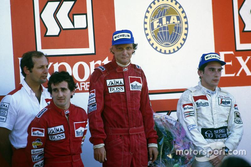 1984: El campeón de pilotos