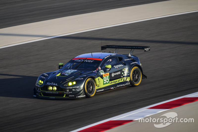 1. LMGTE-Pro: #95 Aston Martin Racing, Aston Martin Vantage GTE: Marco Sorensen, Nicki Thiim