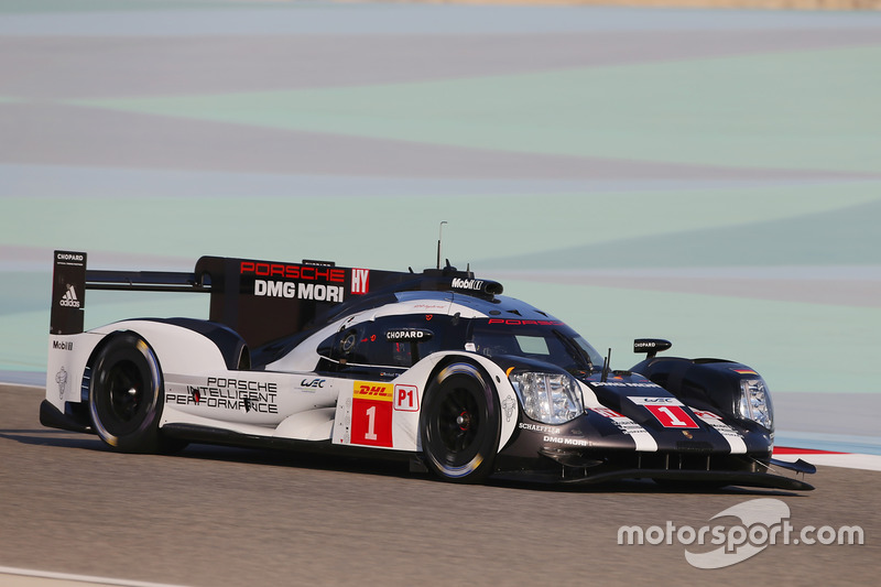 2. LMP1: #1 Porsche Team, Porsche 919 Hybrid: Timo Bernhard, Mark Webber, Brendon Hartley