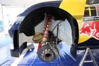 Volkswagen Polo R suspensión y detalle de frenos