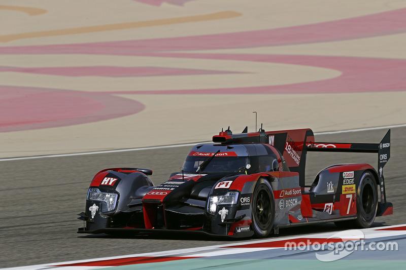 2. LMP1: #7 Audi Sport Team Joest, Audi R18: Marcel Fässler, Andre Lotterer, Benoit Tréluyer