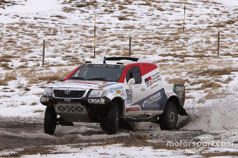 Nani Romaa y Alex Haro, Toyoya Gazoo Racing