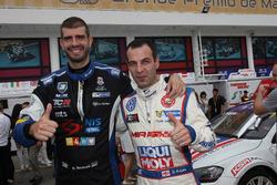 Dusan Borkovic, B3 Racing Team SEAT León SEQ; Davit Kajaia, Liqui Moly Team Engstler Volkswagen Golf GTI