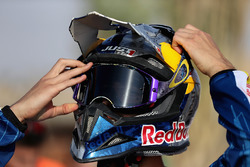 Daniel Ricciardo, Red Bull Racing se prépare à piloter une moto