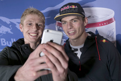 Max Verstappen with participant