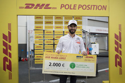 DHL Award for José María López, Citroën World Touring Car Team, Citroën C-Elysée WTCC