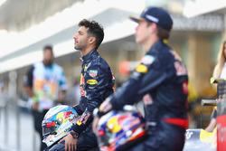 Daniel Ricciardo, Red Bull Racing op een teamfoto