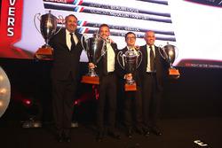 2016 Sprint Cup Pro-AM Cup Pilotlar şampiyonu Giacomo Piccini, 2. Jean-Luc Beaubelique, 3. Jean-Philippe Belloc, Christophe Bourret