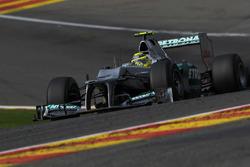 Nico Rosberg, Mercedes AMG F1 ile 50. Start - Belçika 2012