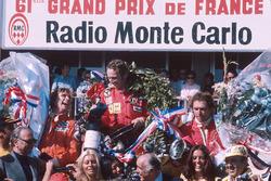 Podium: 1. Niki Lauda, Ferrari; 2. James Hunt, Hesketh Ford; 3. Jochen Mass, McLaren Ford