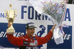 Podium: 1. Nigel Mansell, Williams