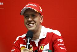 Conferencia: Sebastian Vettel, Ferrari