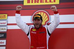 Race winner Carlos Kauffmann, Ferrari of Fort Lauderdale