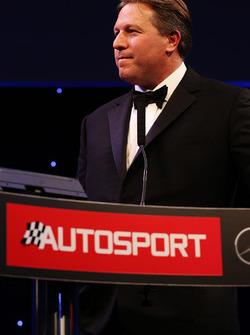 McLaren CEO Zak Brown