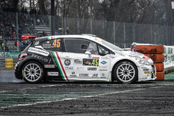 Джузеппе Теста и Даниэле Мангьяротти, Peugeot 208 T16