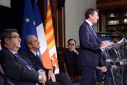 Christian Estrosi, president of the Provence-Alpes-Côte d'Azur region