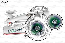 Honda RA108 2008 front wheel cover