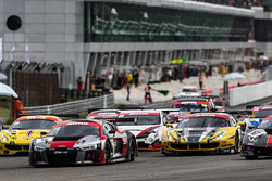 #16 Audi Sport Team Phoenix, Audi R8 LMS, Pierre Kaffer, Rene Rast, Markus Winkelhock