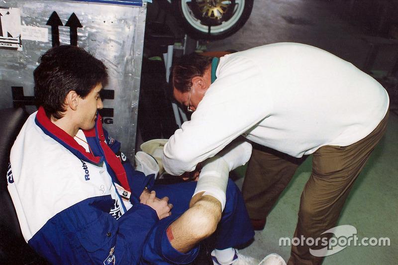 Mick Doohan, Honda, et le Docteur Claudio Costa