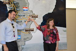Visita del ministro del Turismo in Paraguay, Marcela Bacigalupo