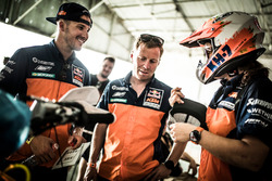 Сэм Сандерленд; Штефан Хубер; Лайа Санс, Red Bull KTM Factory Racing