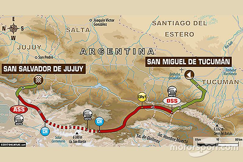 Etapa 3: San Miguel de Tucumán - Jujuy