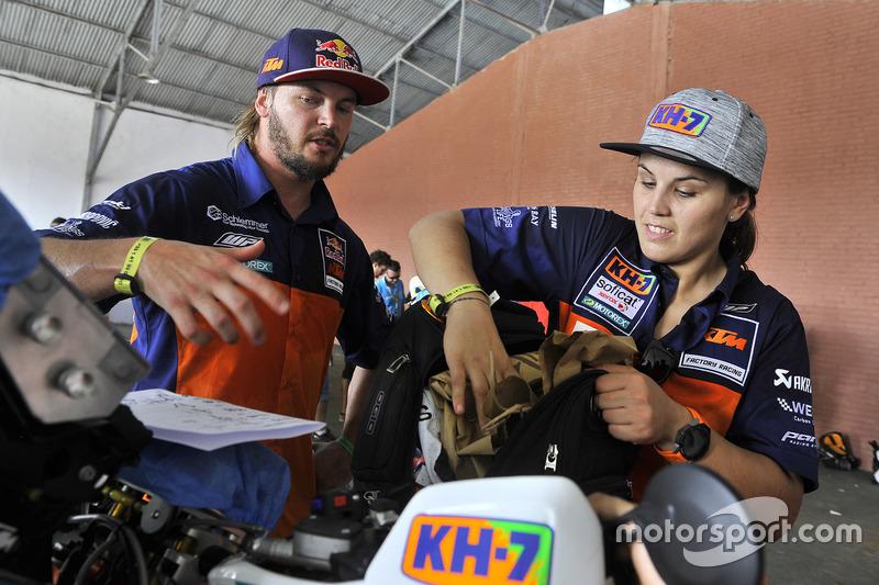 Лайя Санс та Тобі Прайс, Red Bull KTM Factory Team