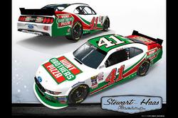 Stewart-Haas Racing livery presentation