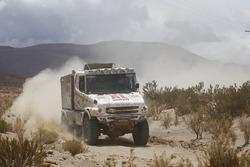 #514 DakarSpeed Scania: Maurik van Den Heuvel, Peter Kuijpers, Wilko van Oort