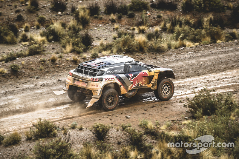#309 Peugeot Sport Peugeot 3008 DKR: Себастьян Льоб, Даніель Елена