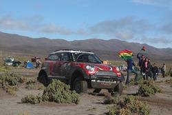 №303 X-Raid Team Mini: Микко Хирвонен и Мишель Перен