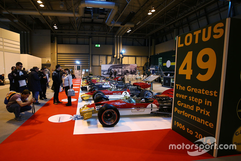 Le stand Lotus