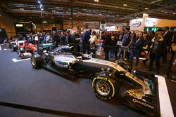 Fans en la exhibición F1 Racing