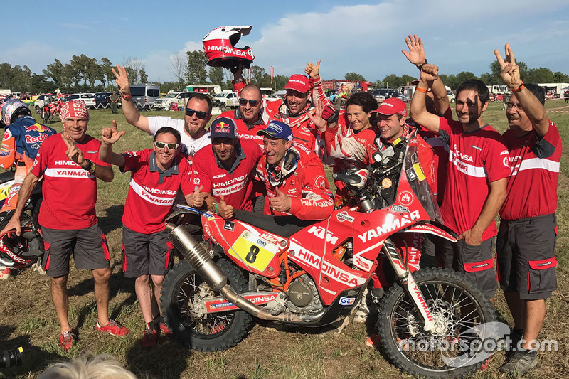 Himoinsa Racing Team celebración
