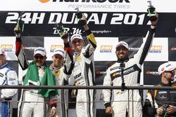 Подиум: №68 Black Falcon Porsche 991 Cup: Сауд Аль-Файсаль, Саид Аль-Мури, Андрес Фьордбах, Александр Торил