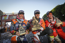 Sam Sunderland, Red Bull KTM Factory Racing, Matthias Walkner, Red Bull KTM Factory Racing, Gerard Farrés, Himoinsa Racing Team KTM