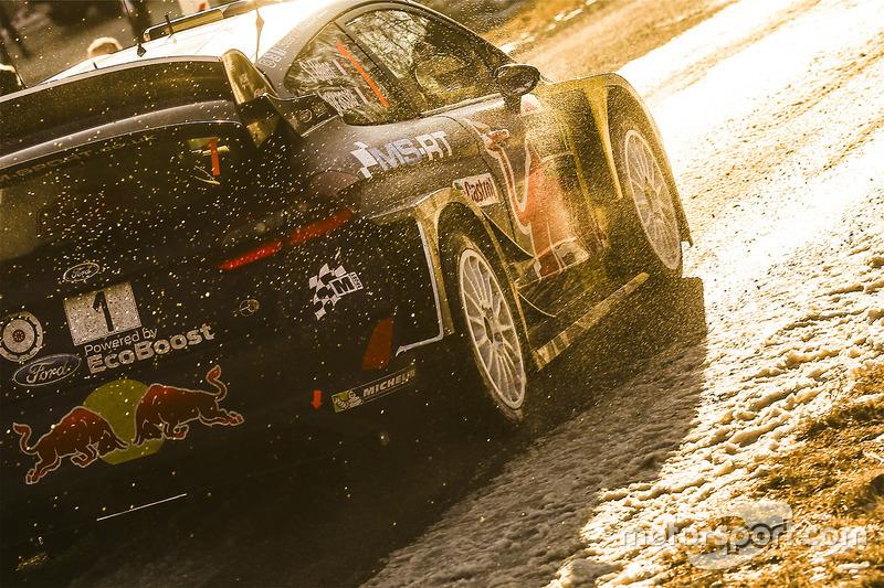 Ford Fiesta WRC Себастьяна Ож'є у фантастичному світлі