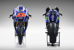 Bike of Valentino Rossi, Yamaha Factory Racing, Maverick Viñales, Yamaha Factory Racing