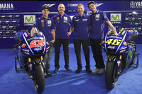 Lin Jarvis, Yamaha Factory Racing Managing Director, Massimo Meregalli, Yamaha Factory Racing Team Director, Valentino Rossi, Yamaha Factory Racing, Maverick Viñales, Yamaha Factory Racing