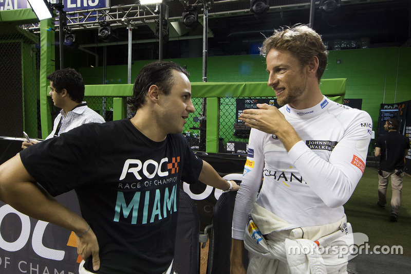 Jenson Button, Felipe Massa