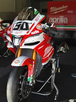 Aprilia RSV4 RF von Eugene Laverty, Milwaukee Aprilia World Superbike Team