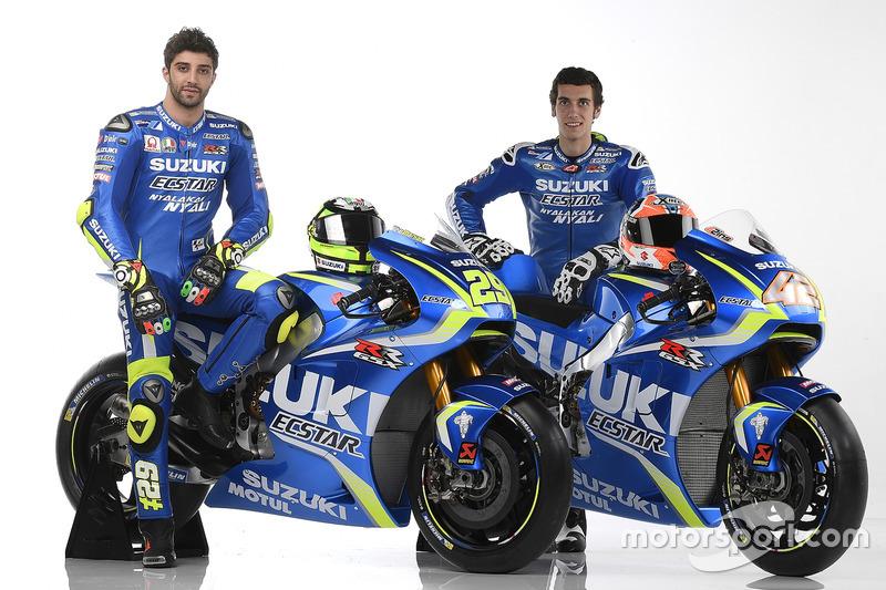 Андреа Янноне та Алекс Рінс, Team Suzuki Ecstar MotoGP