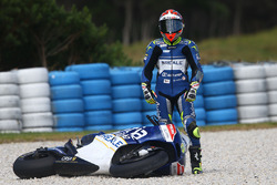 Ектор Барбера, Avintia Racing crash