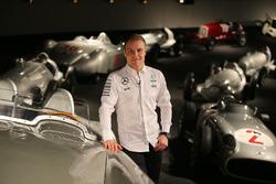 Valtteri Bottas, Mercedes AMG F1, im Mercedes-Museum