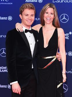 Nico Rosberg en vrouw Vivian Rosberg