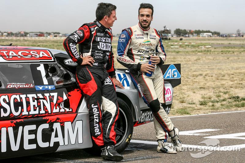 Guillermo Ortelli, JP Carrera Chevrolet, Martin Ponte, Forza Motorsport Team Dodge