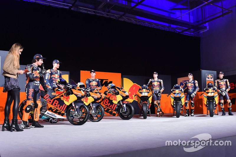 Les pilotes Red Bull KTM Factory Racing