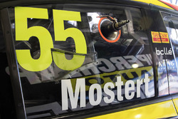 Chaz Mostert, Rod Nash Racing Ford car detail